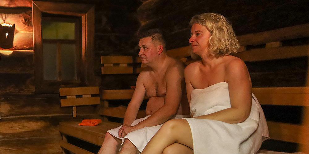 Banja Sauna Aufguss