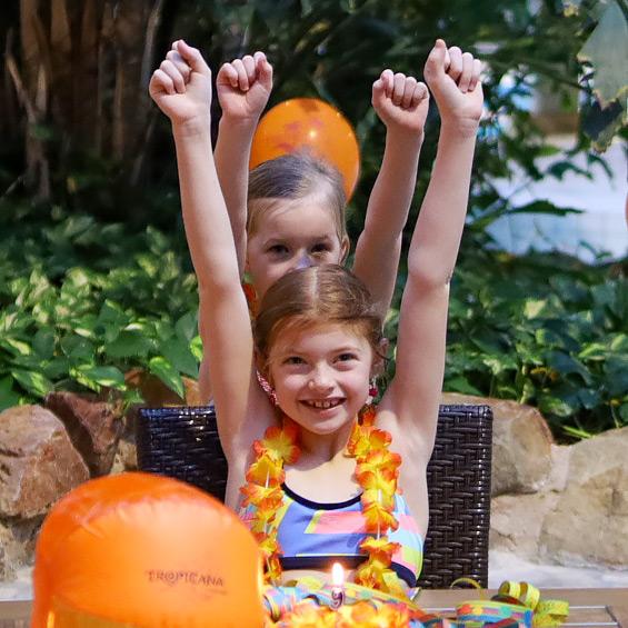 Kindergeburtags feiern im Tropicana