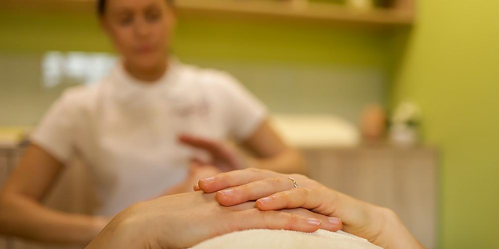 Entspannung bei der Massage