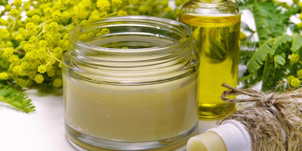 Cremes, Öle für die Kosmetik im Tropicana