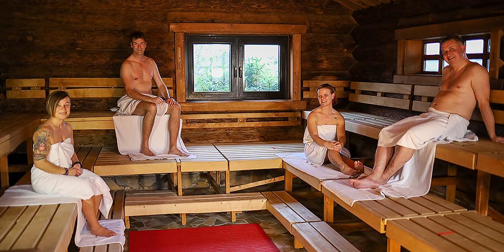Die Ritualsauna. Entspannen bei 95°