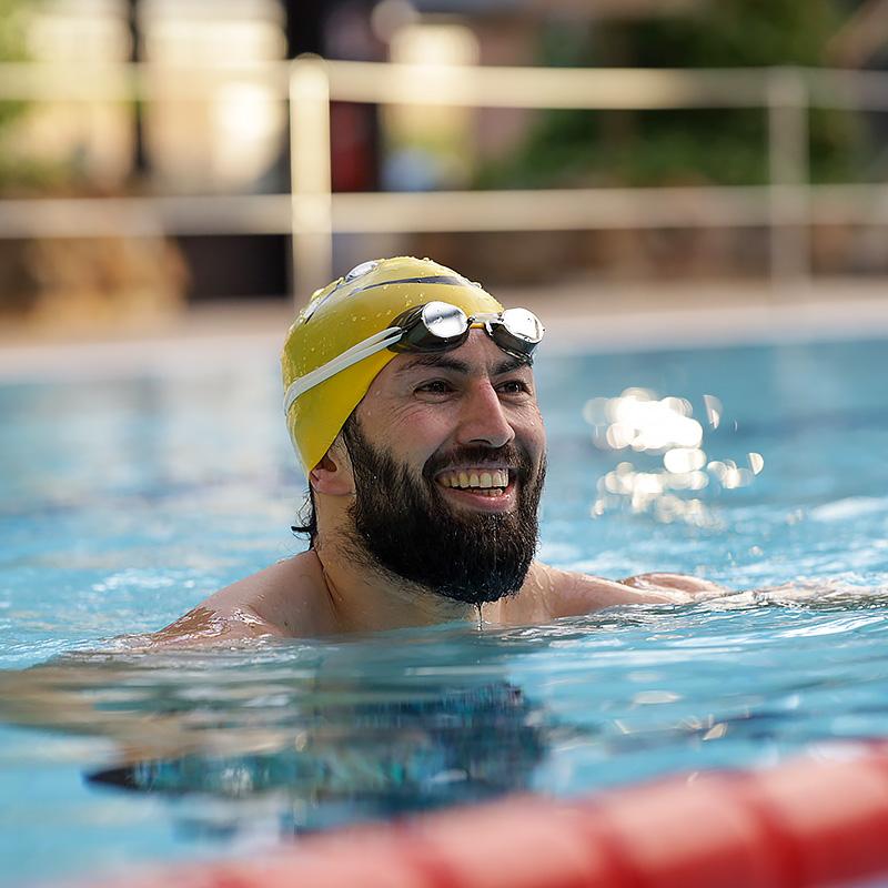 Schwimm-Spaß im 25-Meter-Becken