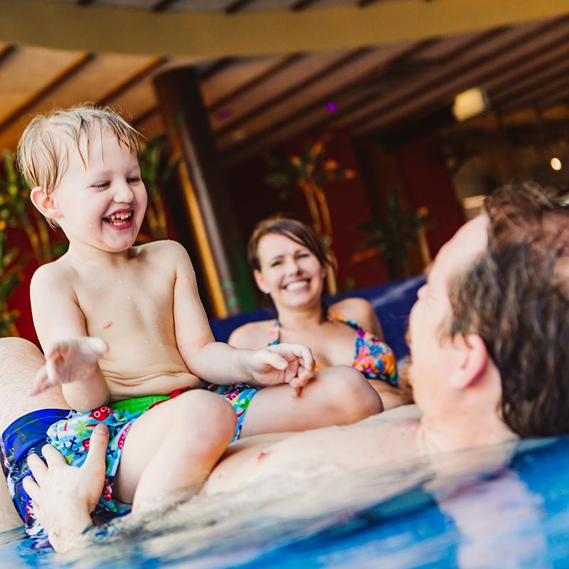 Schwimmen und familienspaß im Tropicana