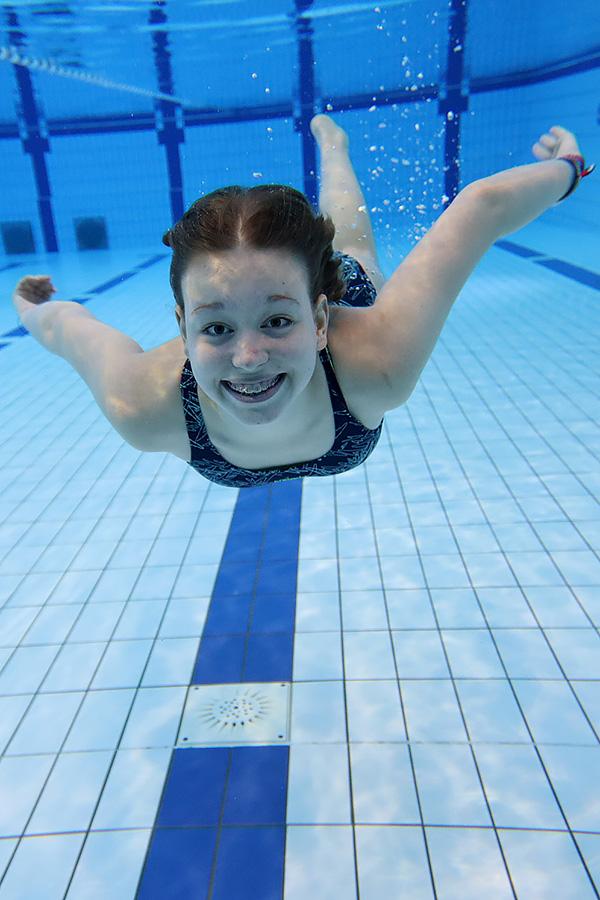 Tauchen Schwimmen Badespaß