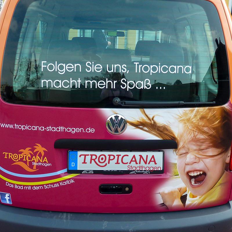 Tropicana Fahrzeug