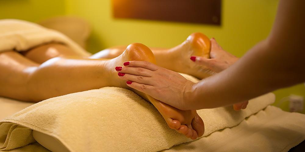 Wohlfühlmassage Fußmassage
